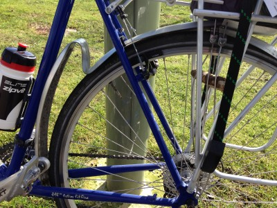 SKS Chromoplastic Mudguards on test