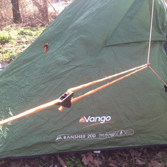 Lighten your tent weight - Vango Banshee 200