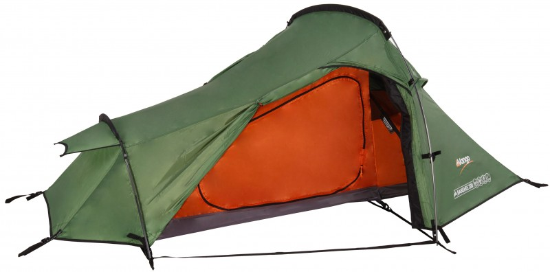 Best cycle touring tents - The vango banshee is a reasonably priced tent that is classed as a two man but is comfortable only for one
