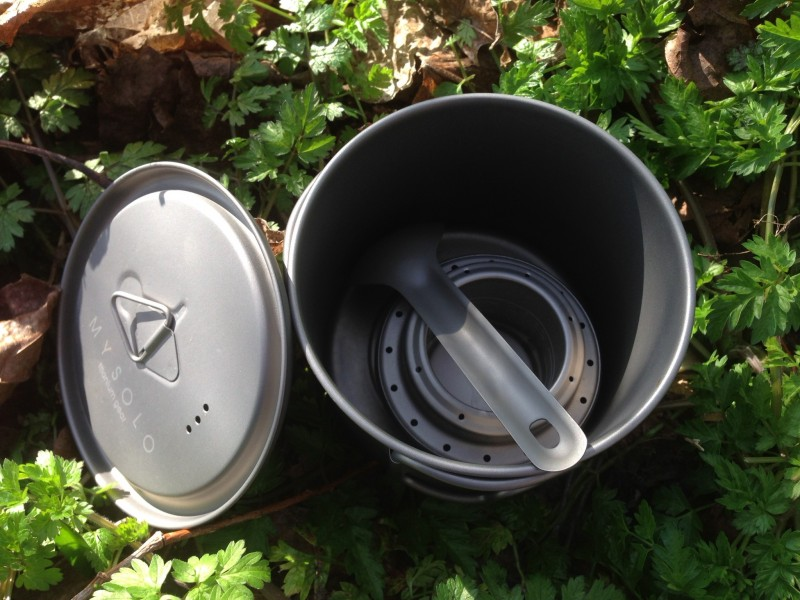 Evernew or not? Mysolo stove, 550ml stove & 8g short spoon