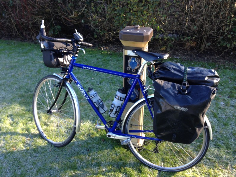 Beginning cycle touring