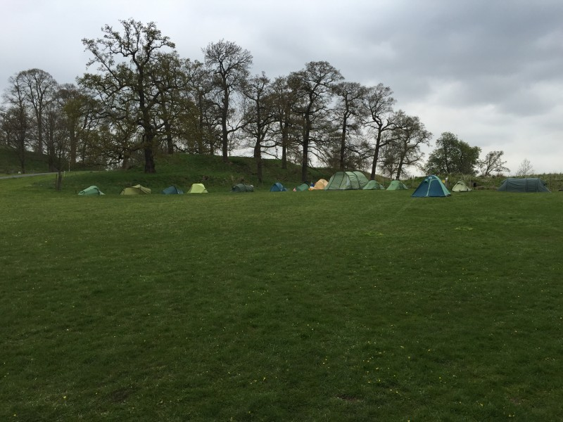 Cycle Tour Festival camping