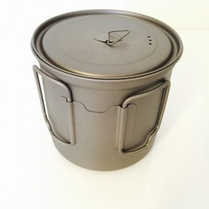 large titanium mug pot