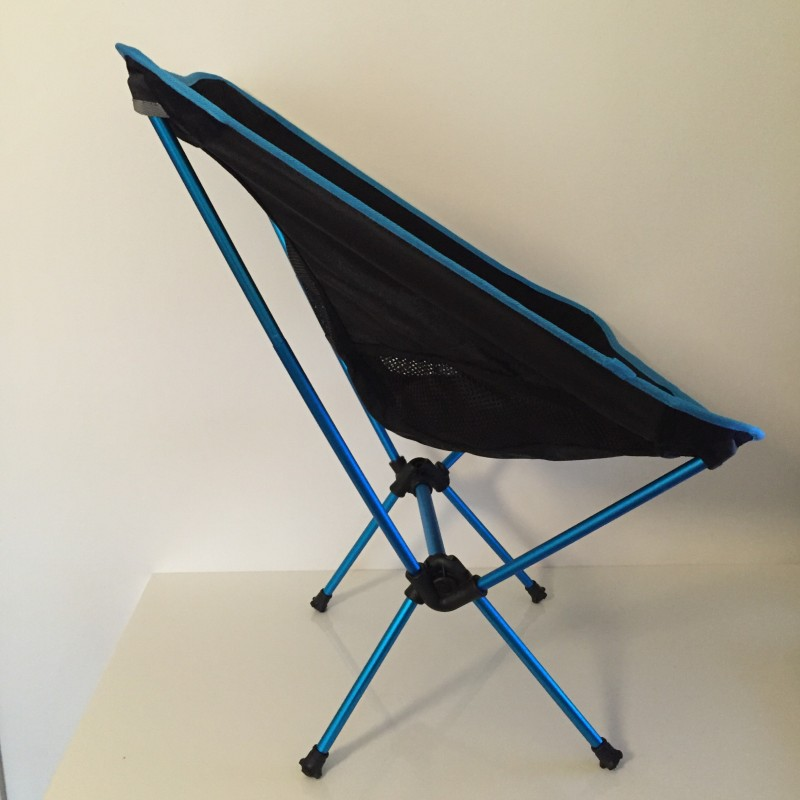 sprung pole folding camp chair seat