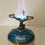 expedition titanium stove for camping and cycle touring BRS 3000T