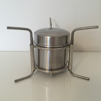 Trangia Type Alcohol Stove With Pot Stand Cycle Tour Store