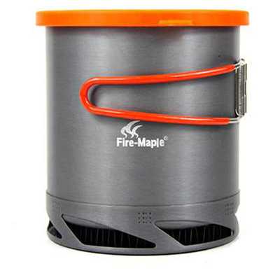 1 ltr fire maple lightweight aluminium camp cooking pot