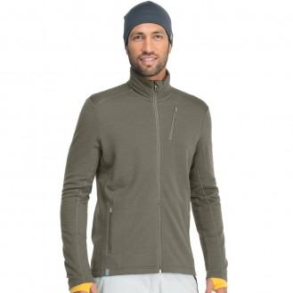 outdoor clothing - merino wool mid layer as part of an outdoor clothing layering system