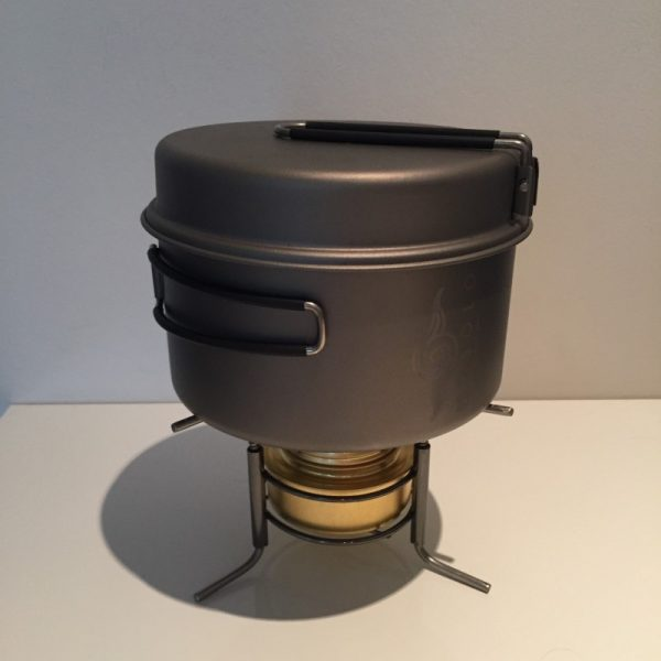 camp cooking set this stove can easily support a 1200ml saucepan and even larger when necessary
