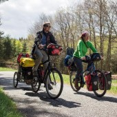 The Travelling Two is a great cycle touring website, podcast and series of ebooks fromFriedel & Andrew: two Canadians who love travelling by bicycle.