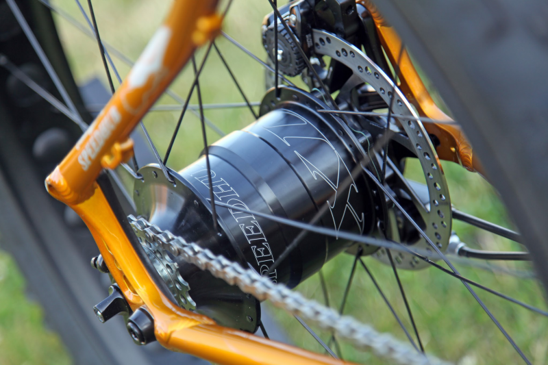 Rohloff internal gears for cycle touring bikes