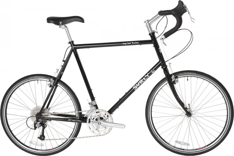 Surly Long Haul Trucker 26 inch frameset touring bike is used for off road touring but I prefer the Surly Troll