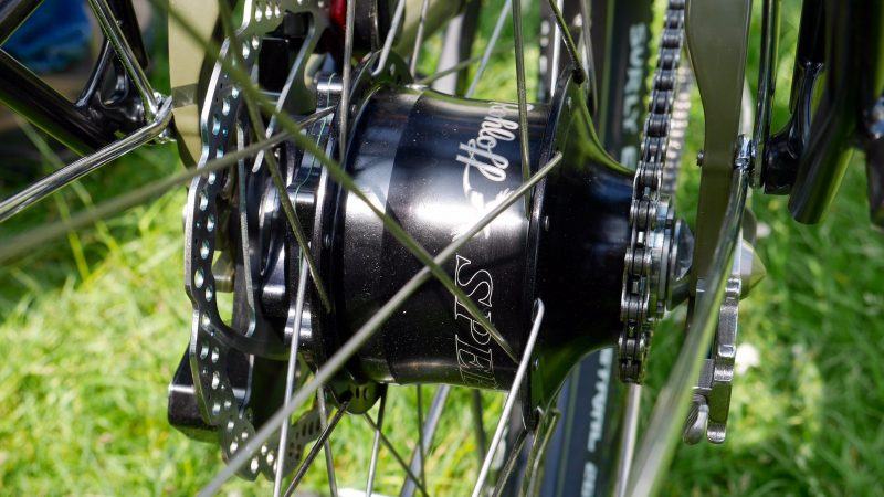 Rohloff Speed Hub on Ryde Rigida Sputnik Rims with DT Swiss Spokes