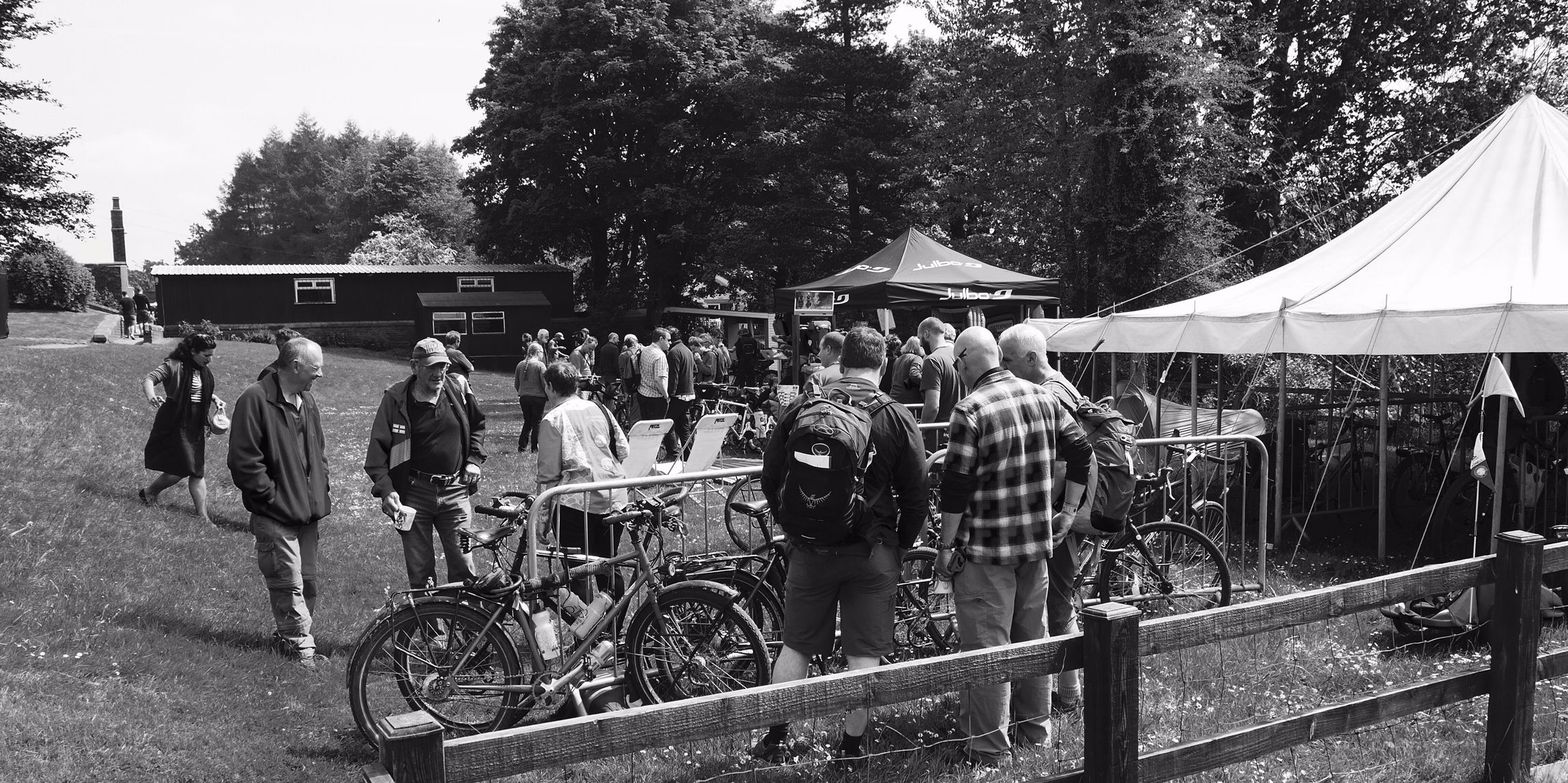 Ghyllside Cycles, Exped, Adventures Pedlars at Cycle Tour Fest