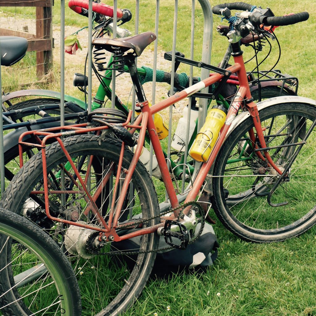Seasoned touring bikes at Cycle Tour Fest 2016