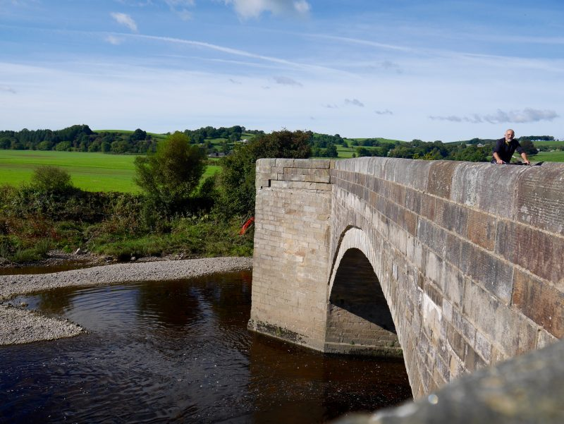 beautiful places in the uk for cycle touring Ribble Valley lancashire forest of bowland