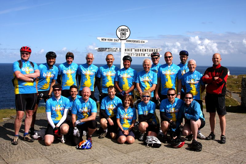 LEJOG - a supported group ride from lands end to john o groats with bikeadventures.co.uk