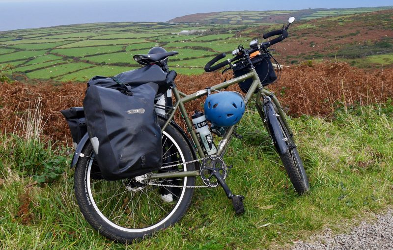 Maybe the best go anywhere off road cycle touring bike - The Surly Troll World Troller